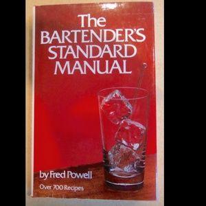 Vintage Bartenders Standard Manual 700 Drinks